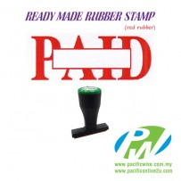 Ready-Made Rubber Stamp (Paid) - with box