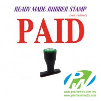Ready-Made Rubber Stamp (PAID)