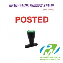 Ready-Made Rubber Stamp (POSTED)