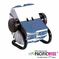 Rotary File PVC Name Card Holder