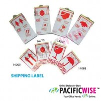 CBE 14070 Shipping Label (Handle With Care)