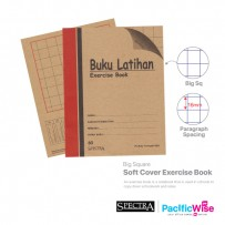 Soft Cover Exercise Book (Big Square) 80pages