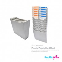 Plastic Punch Card Rack (24's)