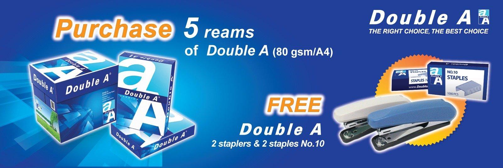 free stapler and refill
